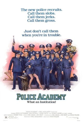 Police Academy (1984) Main Poster