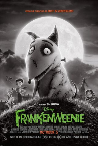 Frankenweenie (2012) Main Poster