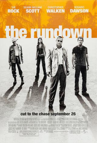 The Rundown (2003) Main Poster