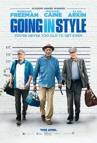 Going In Style (2017) Main Poster