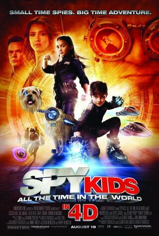 Spy Kids 4-D: All The Time In The World (2011) Main Poster