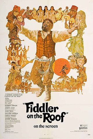 Fiddler On The Roof (1971) Main Poster