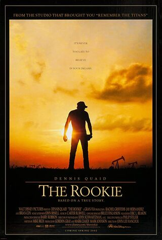 The Rookie (2002) Main Poster