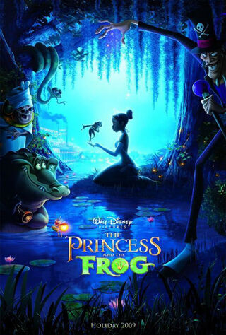 The Princess and the Frog (2009) Main Poster