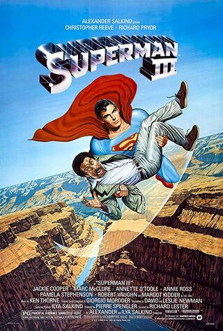 Superman III (1983) Main Poster
