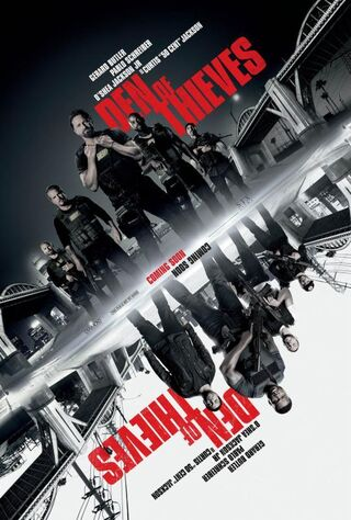 Den Of Thieves (2018) Main Poster