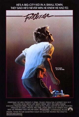 Footloose (1984) Main Poster