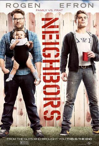 Neighbors (2014) Main Poster