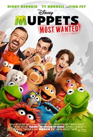 Muppets Most Wanted (2014) Main Poster