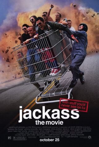 Jackass: The Movie (2002) Main Poster
