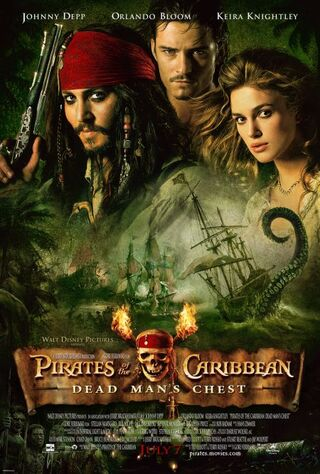Pirates of the Caribbean: Dead Man's Chest (2006) Main Poster