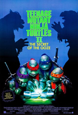 Teenage Mutant Ninja Turtles II: The Secret Of The Ooze (1991) Main Poster