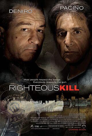 Righteous Kill (2008) Main Poster