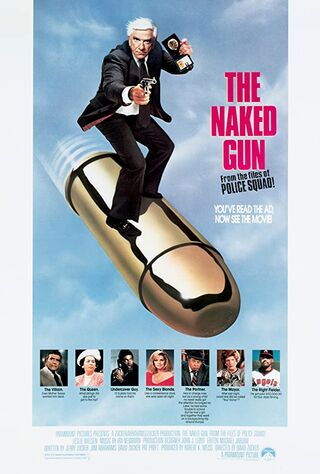 The Naked Gun: From The Files Of Police Squad! (1988) Main Poster