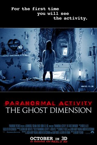 Paranormal Activity: The Ghost Dimension (2015) Main Poster