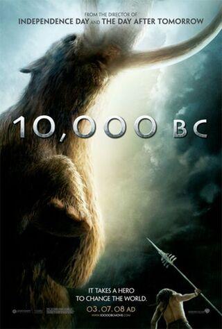 10,000 BC (2008) Main Poster