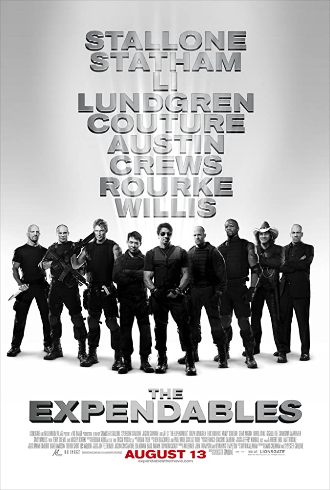 The Expendables (2010) Main Poster