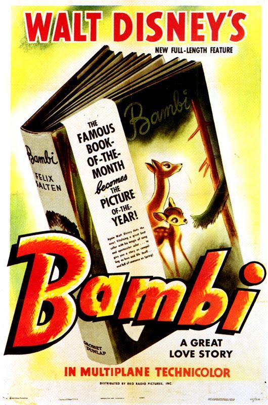 Bambi (1942) Main Poster