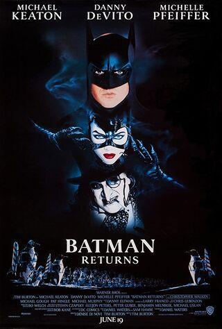Batman Returns (1992) Main Poster