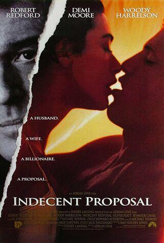 Indecent Proposal (1993) Main Poster