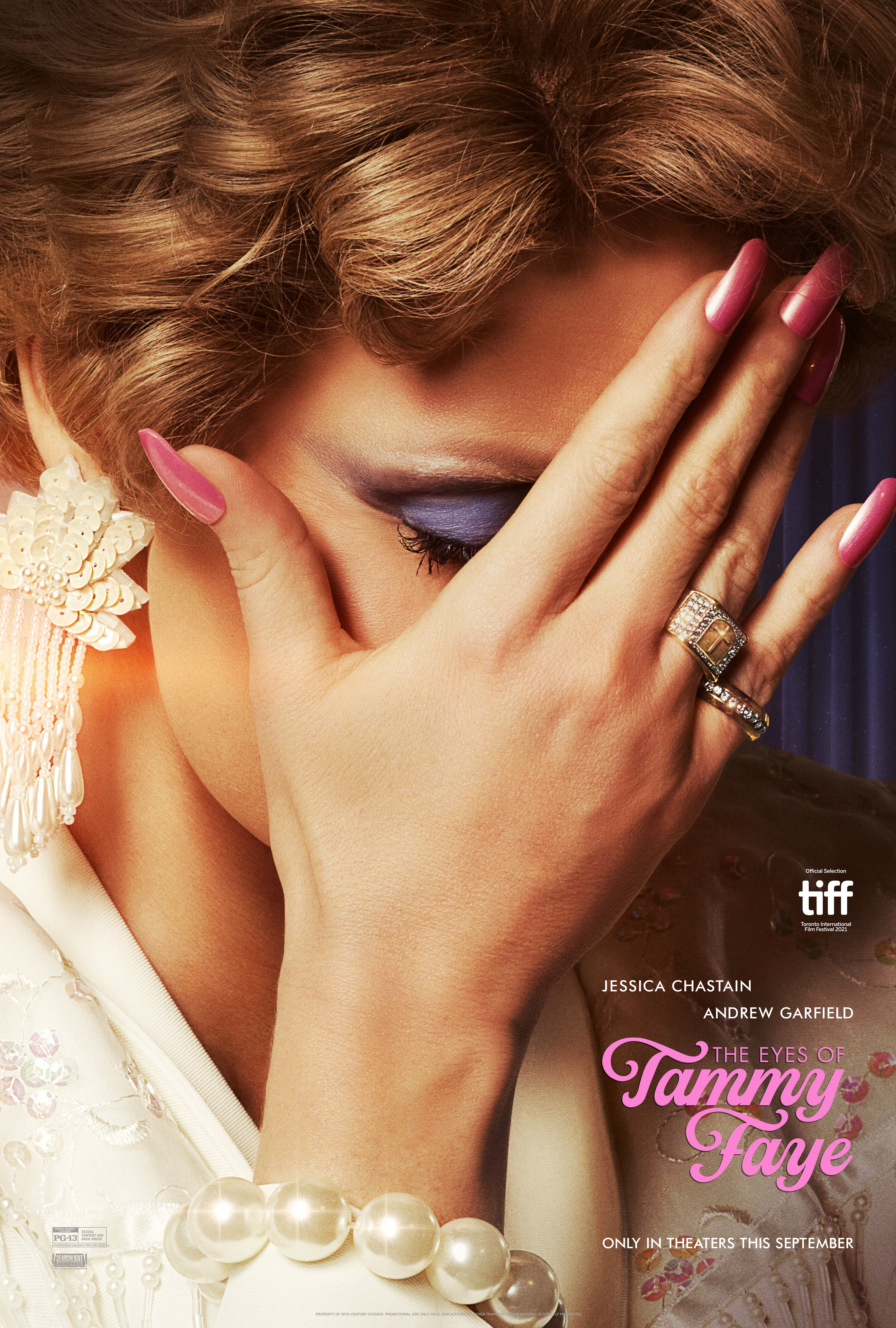 The Eyes Of Tammy Faye (2021) Main Poster
