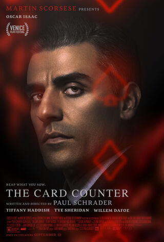 The Card Counter (2021) Main Poster