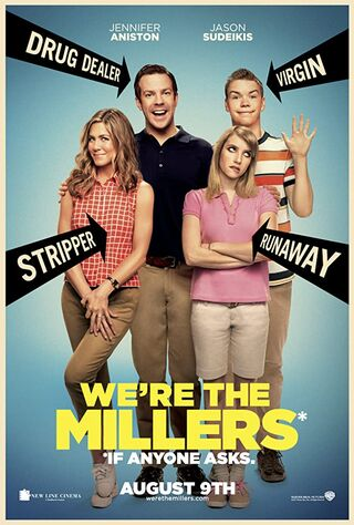We're the Millers (2013) Main Poster