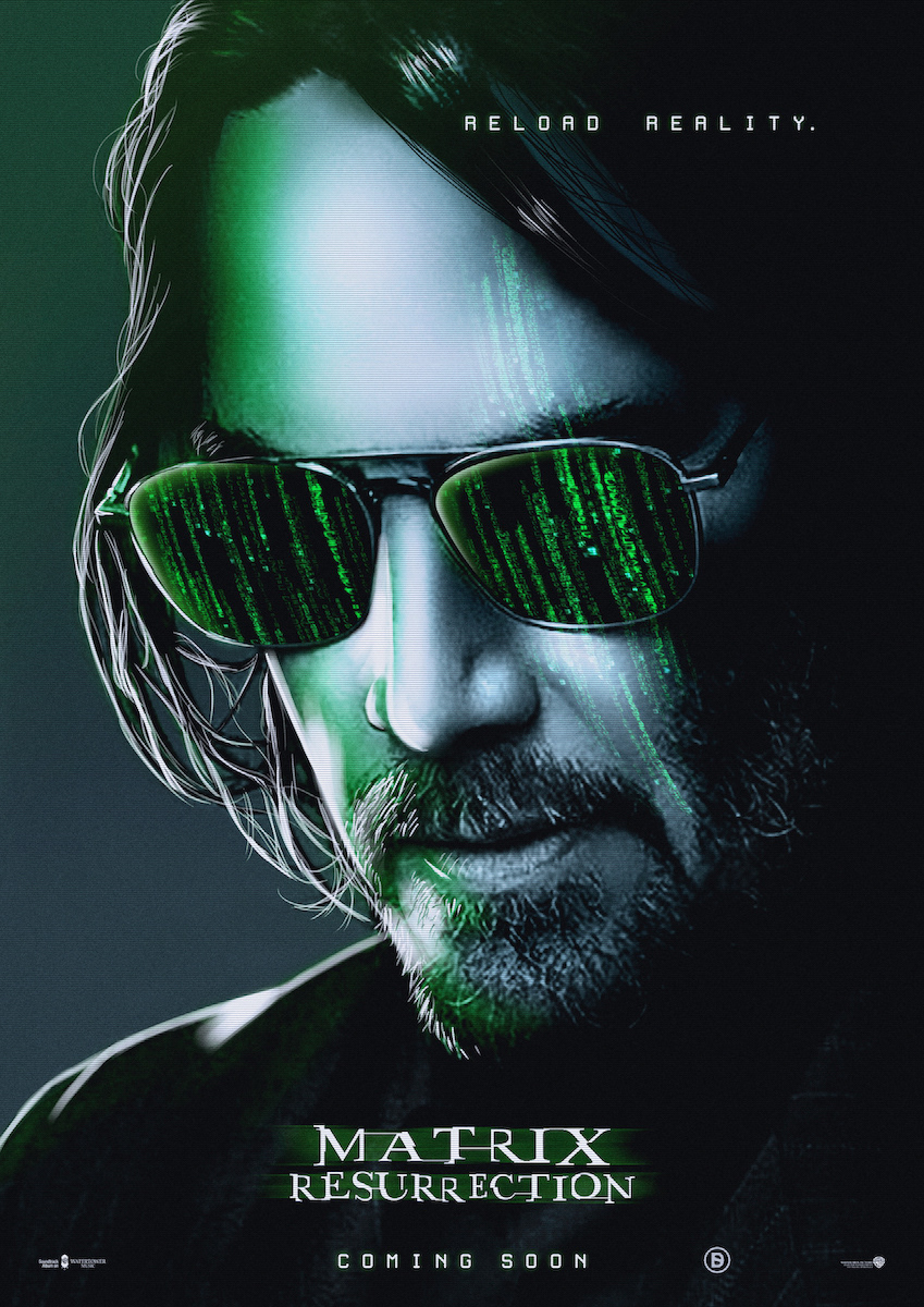The Matrix Resurrections (2021) Main Poster