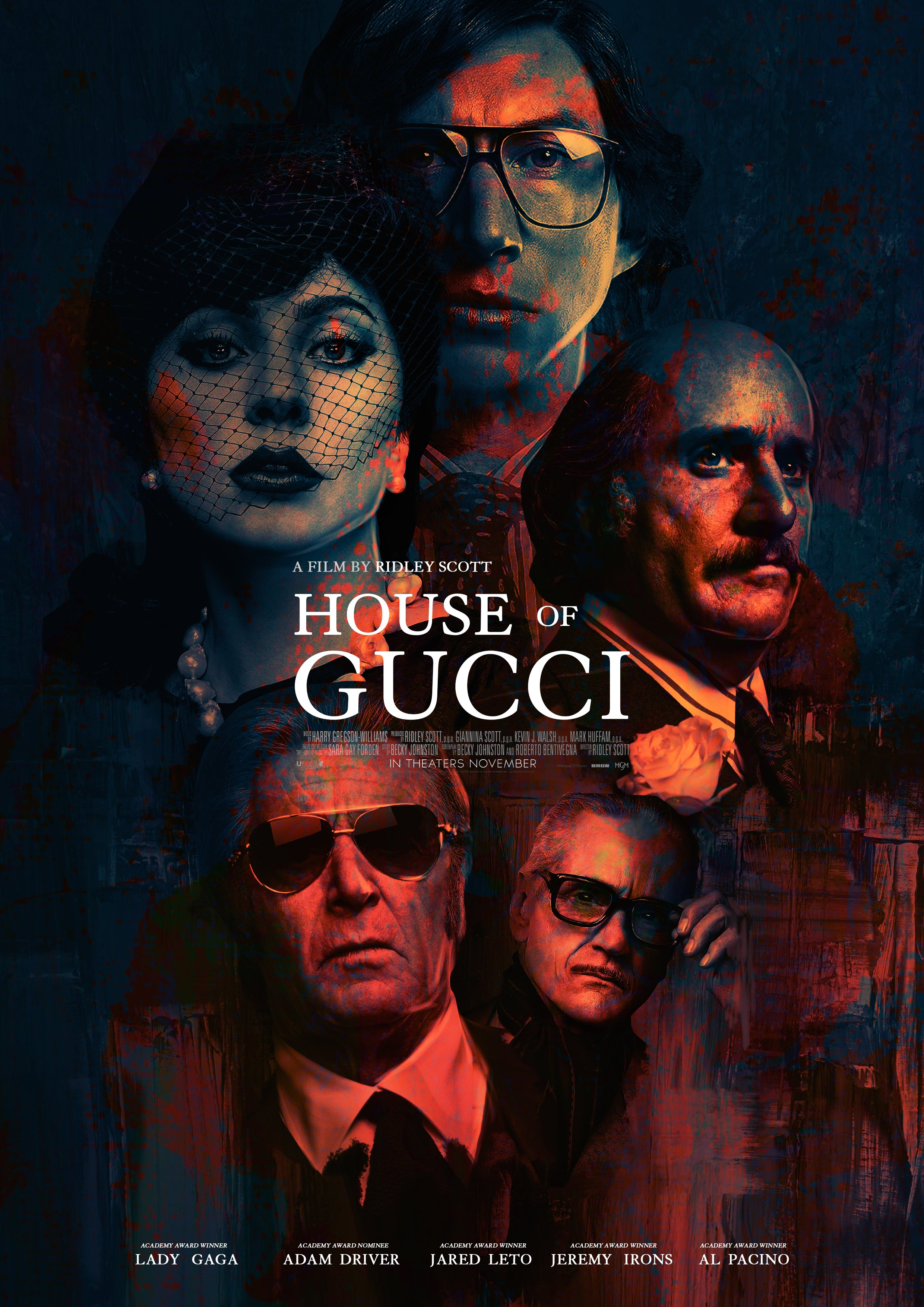 House Of Gucci (2021) Poster #8