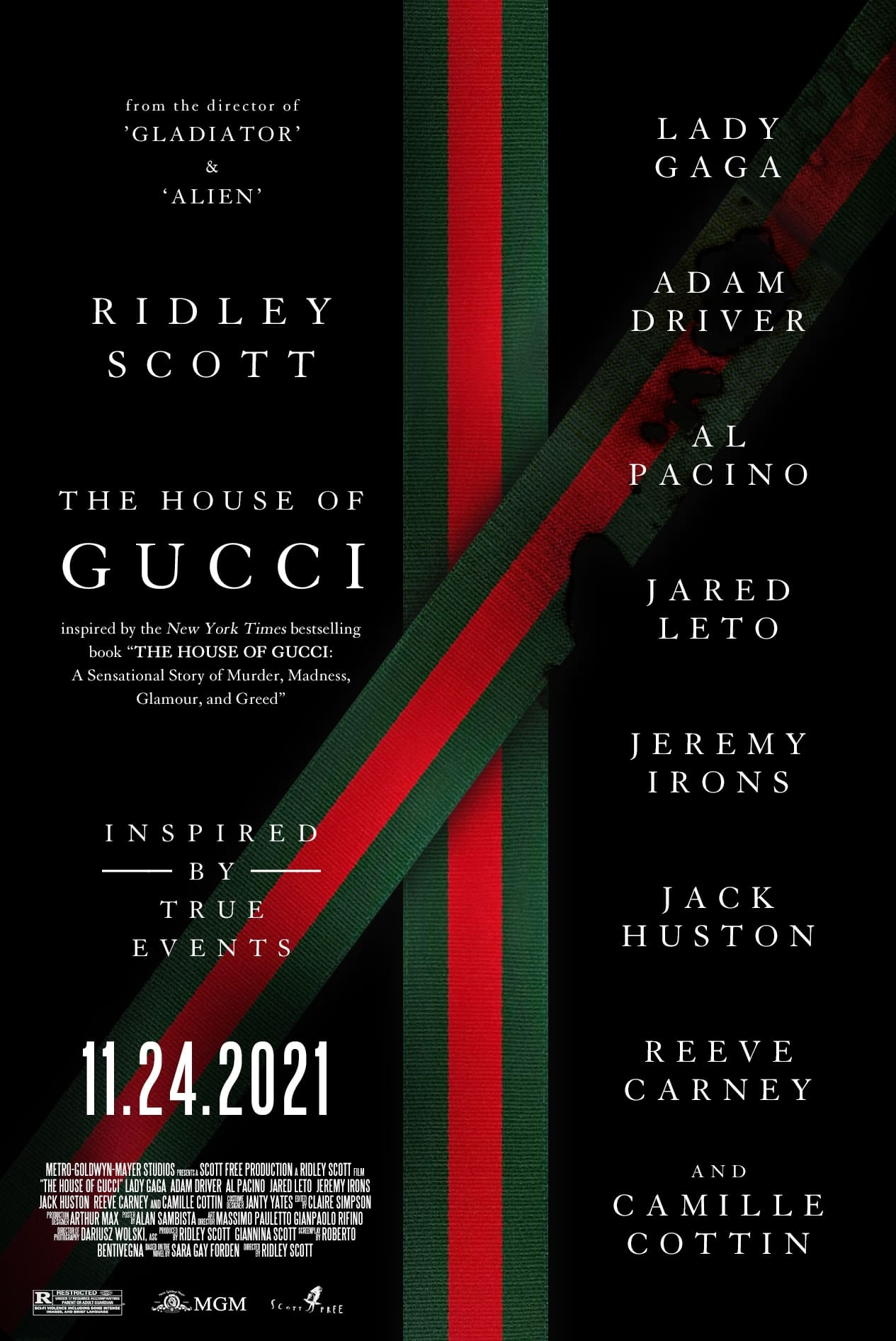 House Of Gucci (2021) Poster #4