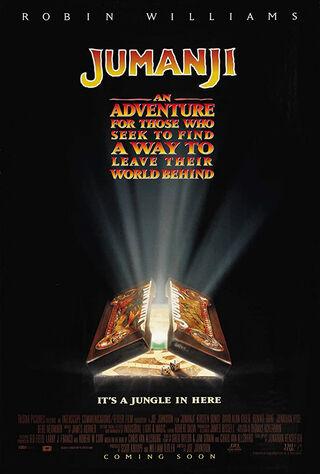 Jumanji (1995) Main Poster