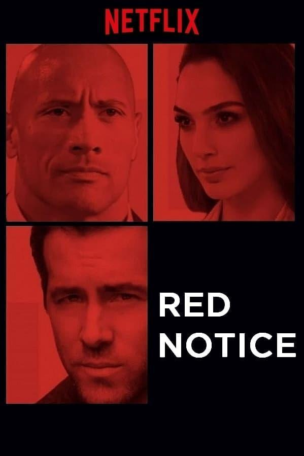 Red Notice (2021) Main Poster