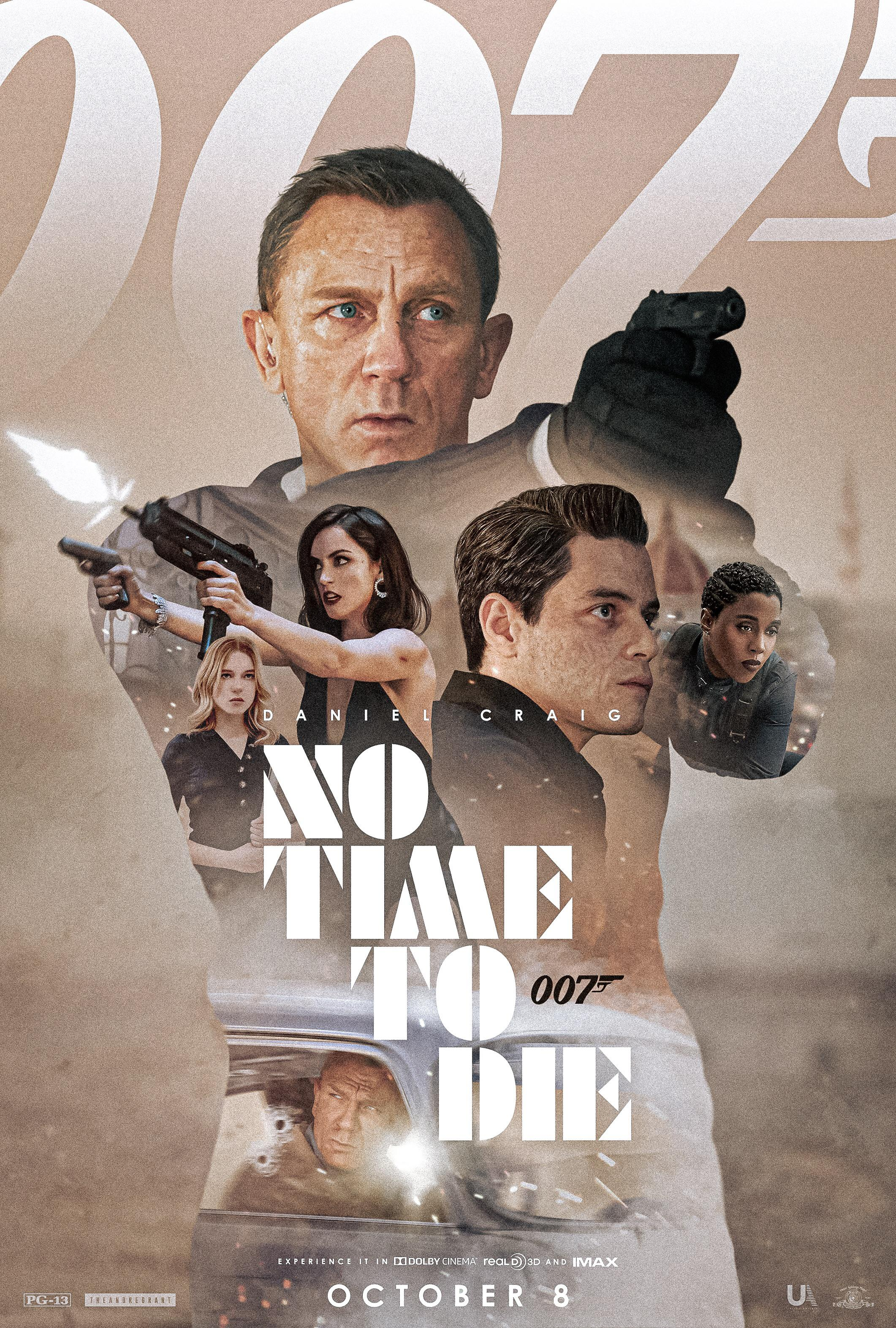 No Time To Die (2021) Poster #19