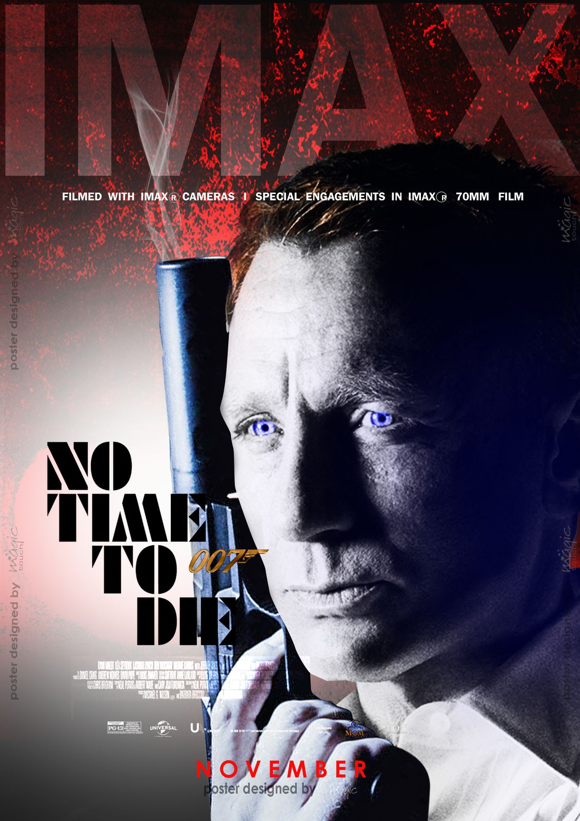 No Time To Die (2021) Poster #21