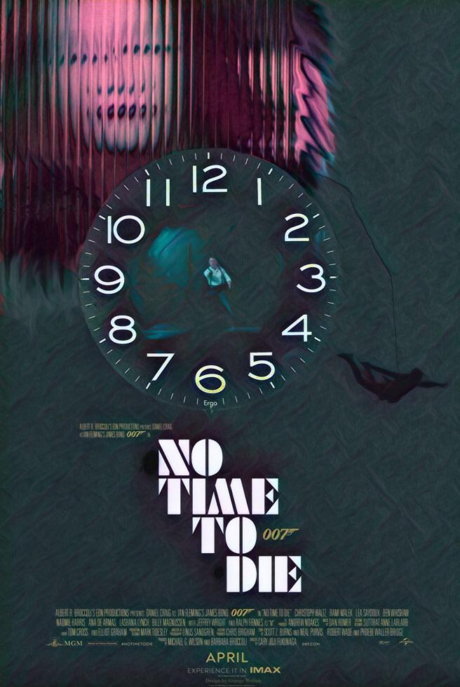 No Time To Die (2021) Poster #27
