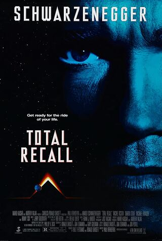Total Recall (1990) Main Poster