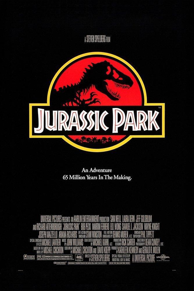 Jurassic Park (1993) Main Poster