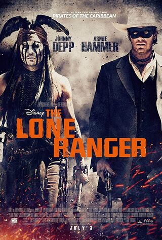 The Lone Ranger (2013) Main Poster