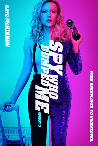 The Spy Who Dumped Me (2018) Main Poster