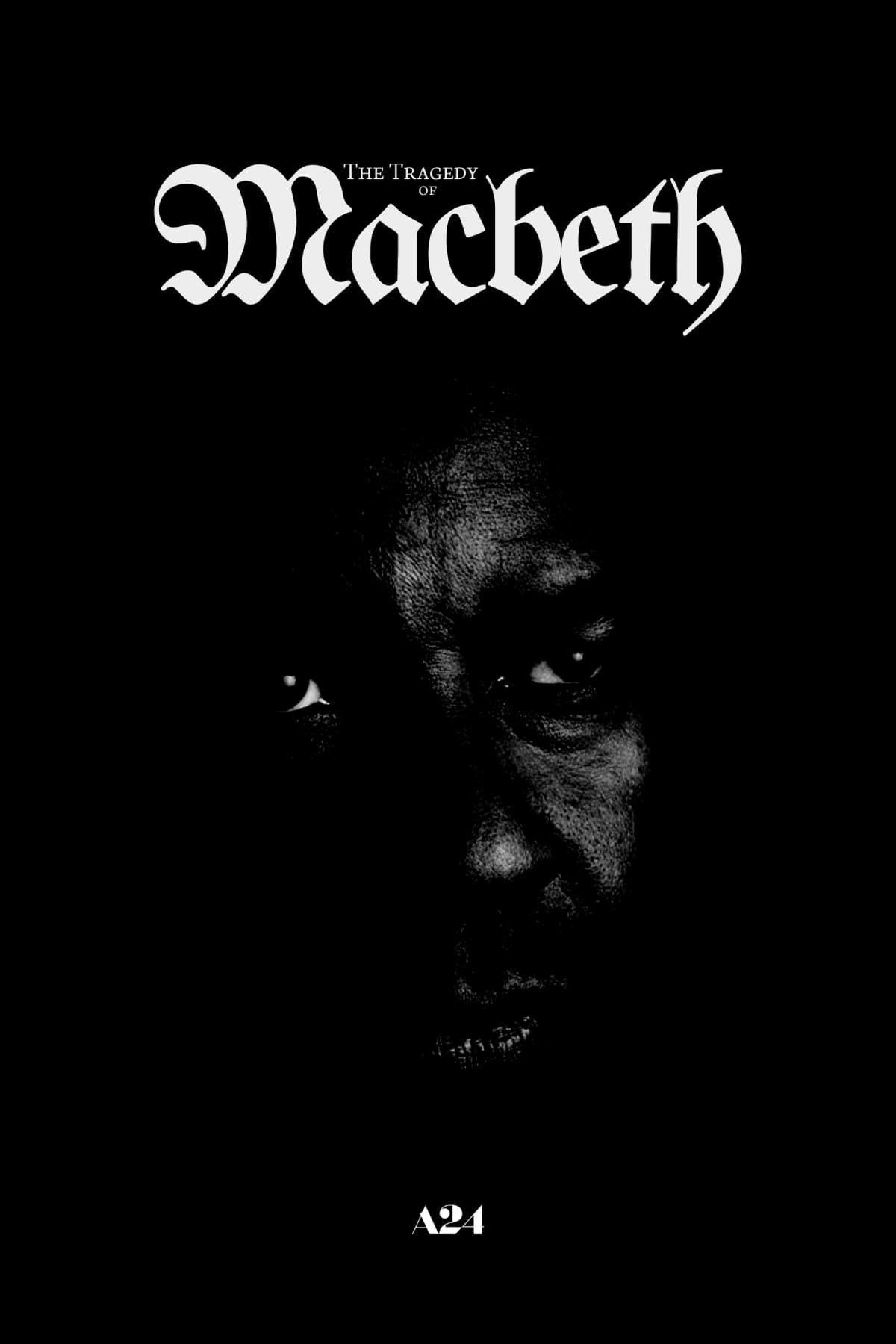 The Tragedy Of Macbeth (2021) Main Poster