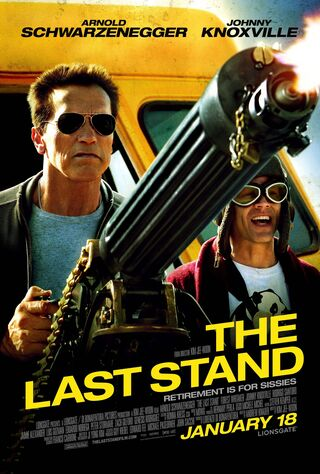 The Last Stand (2013) Main Poster
