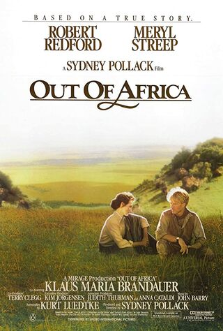 Out of Africa (1985) Main Poster