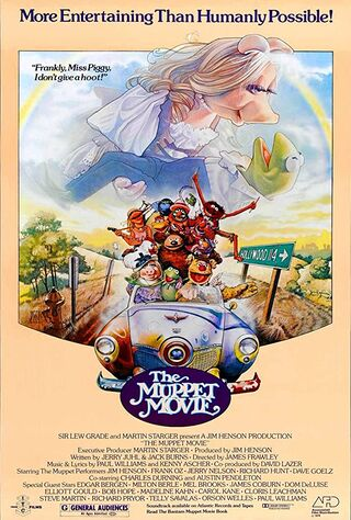The Muppet Movie (1979) Main Poster