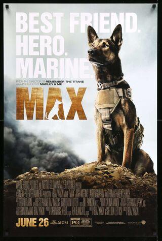 Max (2015) Main Poster