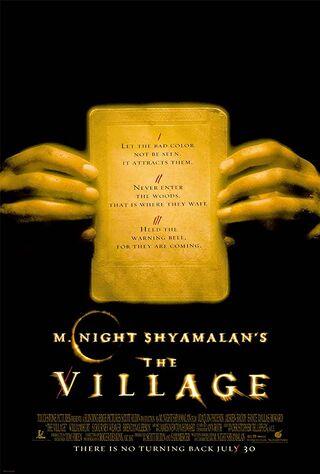 The Village (2004) Main Poster