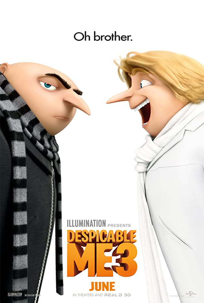 Despicable Me 3 (2017) Main Poster