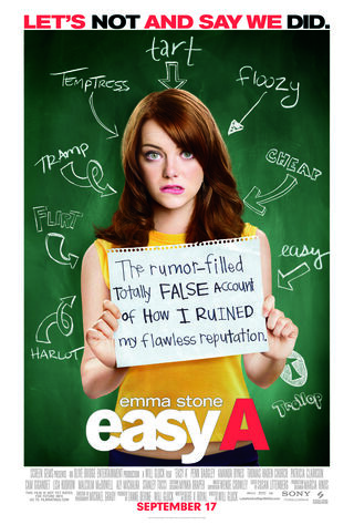 Easy A (2010) Main Poster