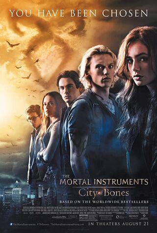 The Mortal Instruments: City Of Bones (2013) Main Poster