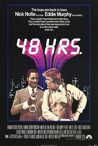 48 Hrs. (1982) Main Poster