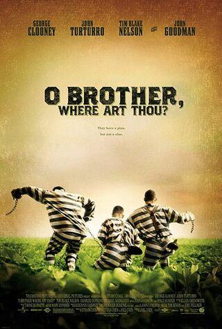 O Brother, Where Art Thou? (2001) Main Poster